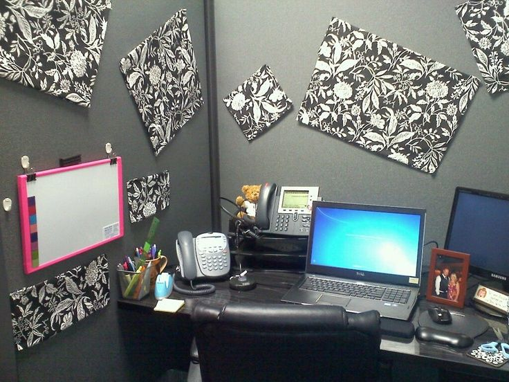 Decorating ideas for work cubicles my new cubicle decor for Creative cubicle ideas