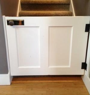 C mo hacer una puerta para ni os muebles y organizadores - Puertas seguridad ninos ...
