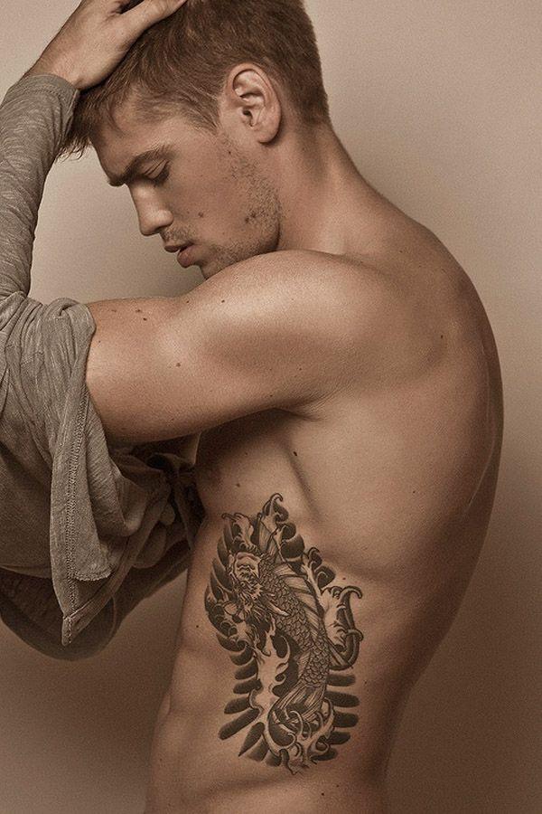 Rib Tattoos for Men | Owl Tattoo | Pinterest | Tattoos, Tattoos for ...