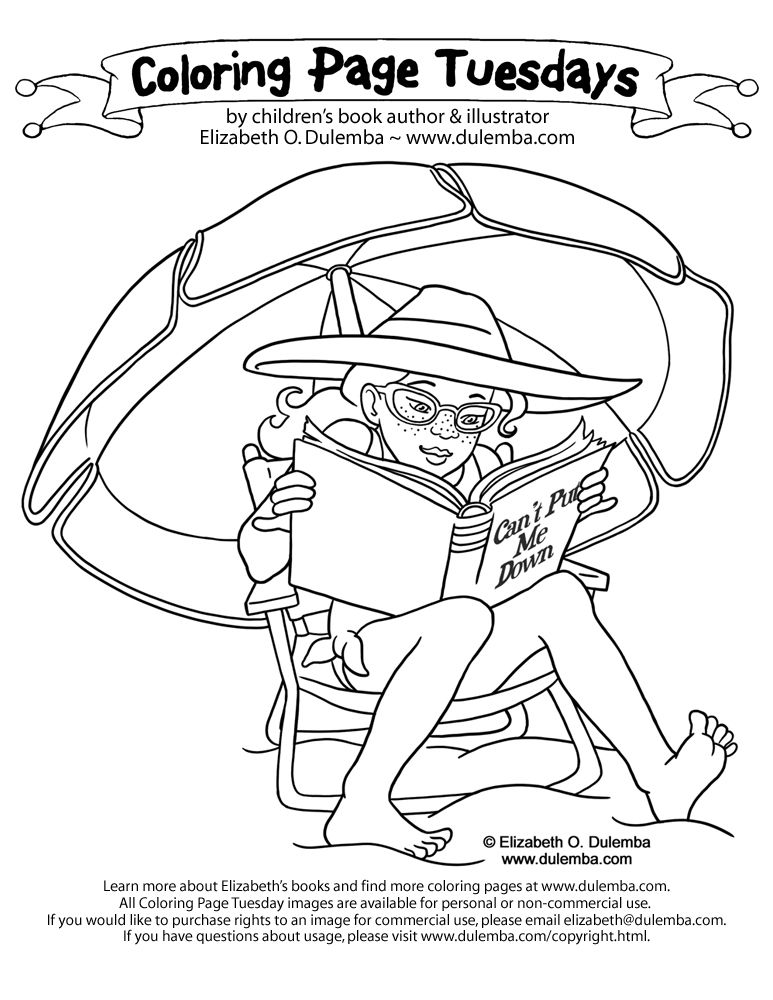 coloring page reading - Google Search | BOOKING IT | Pinterest ...