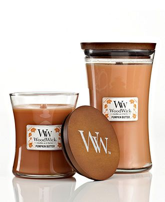 Woodwick Candles Pumpkin Butter Harvest Collection Candles