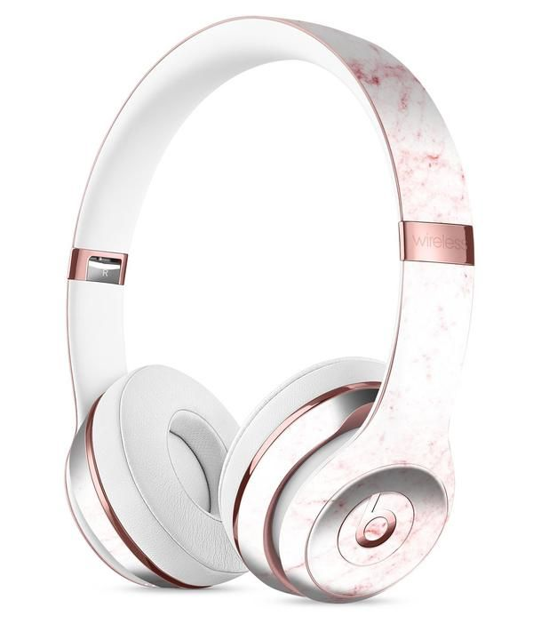 Pink Red Marble Surface Full-Body Skin Kit for the Beats by Dre Solo 3  Wireless Headphones 8c63a5a8d