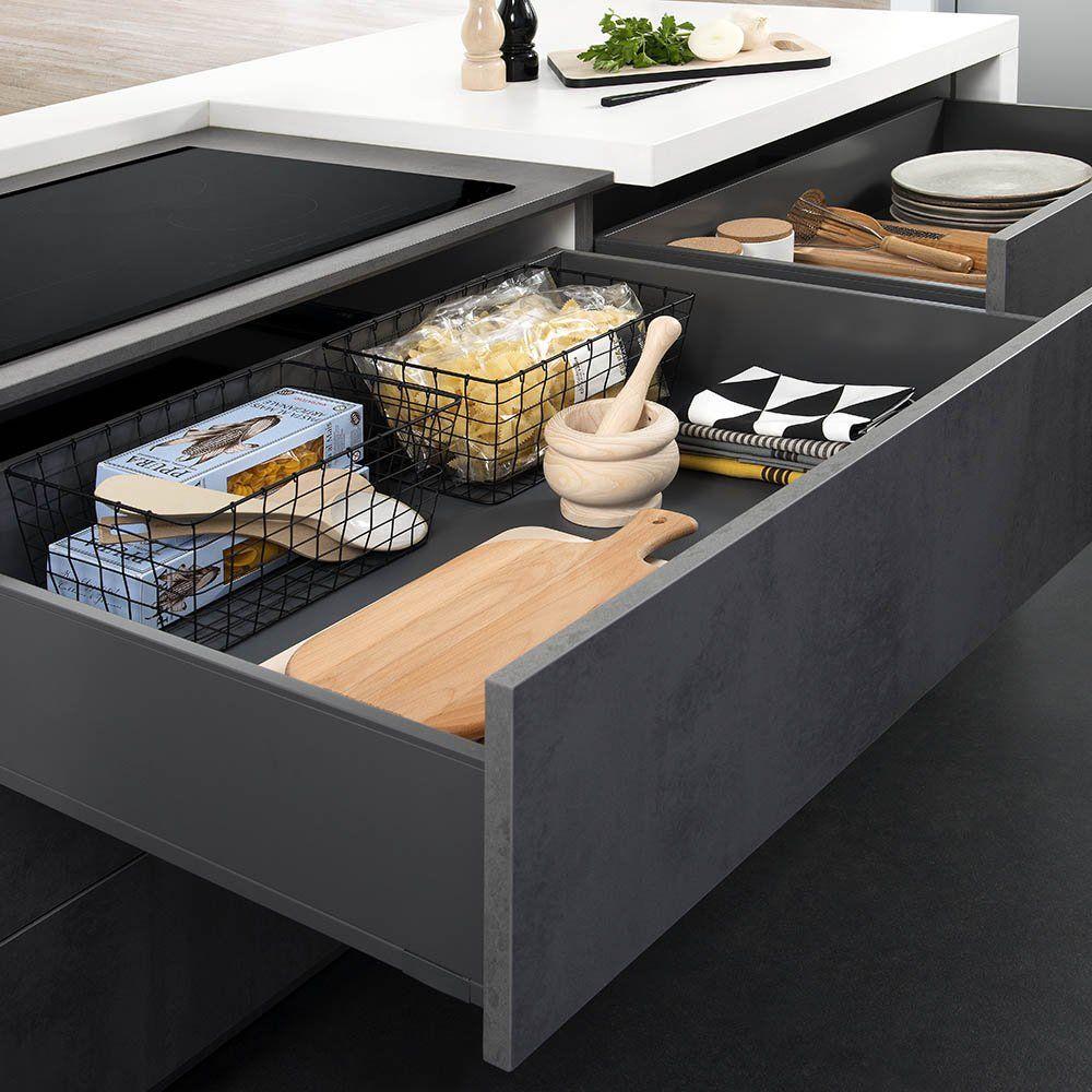 AMNGMT grand tiroir cuisine darty  Kitchen cabinets, Home decor