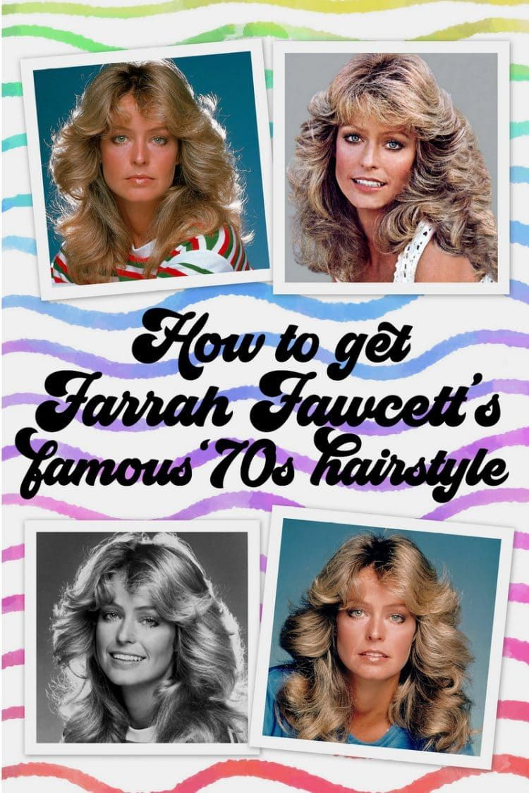 How To Get Farrah Fawcett S Famous Long Feathered Hairstyle From The 70s 70s Hair Feathered Hairstyles Hairstyle