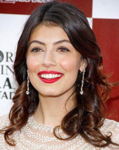 Alessandra Mastronardi - red lips
