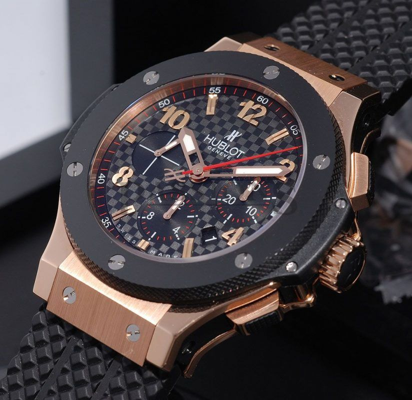 43068625b0b Relógio Hublot – Geneve Big Bang – Red Gold – Réplica Premium AAA+ ...