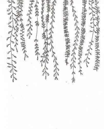 30 ways to draw plants and leaves- # leaves #drawingeasy #drawingflowers # ways