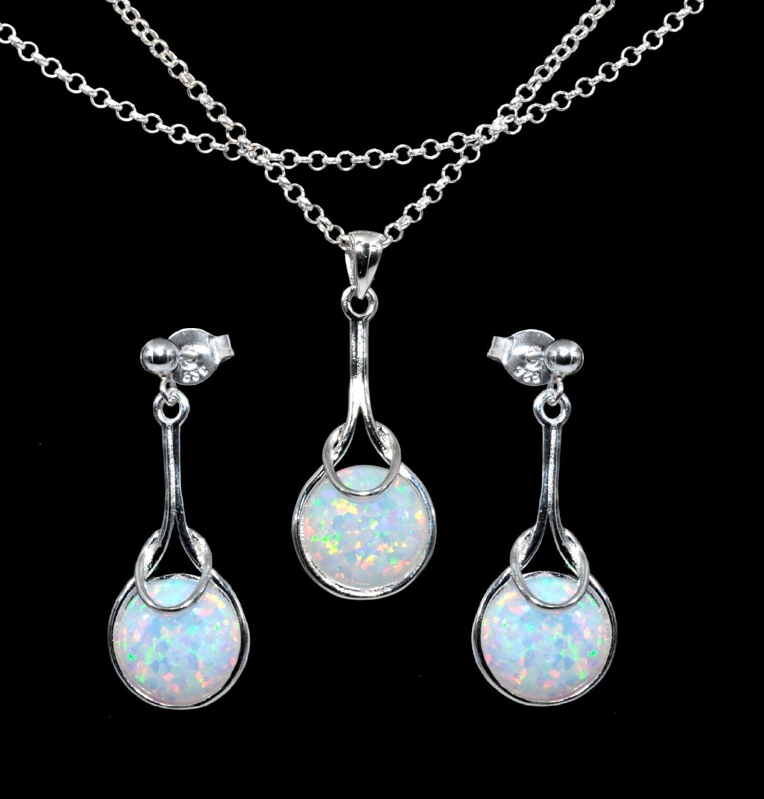 crystal neck fire shop opal product crystalis necklace