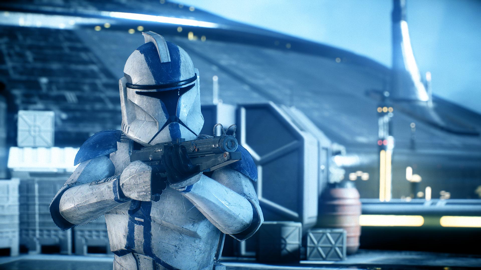 Ortho S 501st Legion A Star Wars Battlefront Ii 2017 Nexus Mods Et Communaute Star Wars Clone Wars Star Wars Episode Ii Star Wars Art