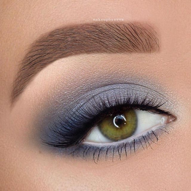 Gorgeous eye makeup for green eyes