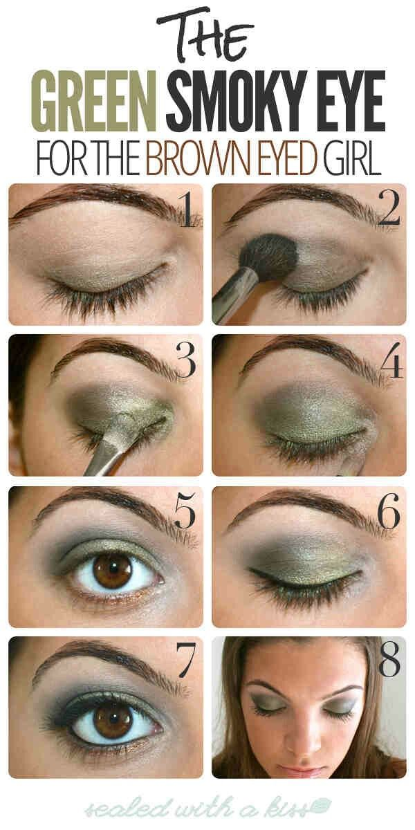 How To Make Brown Eyes Pop Wearable Blue Turquoise Eyeliner Turquoise Eyeliner Brown Eyes Pop Smokey Eye Makeup
