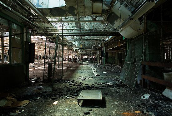 Inside The Abandoned Hudaille Site In Buffalo New York