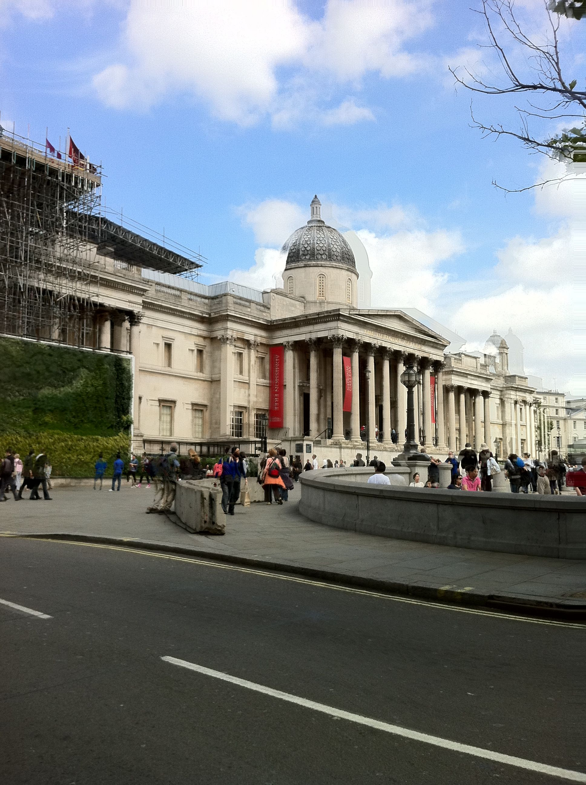 National Gallery, in arrivo.