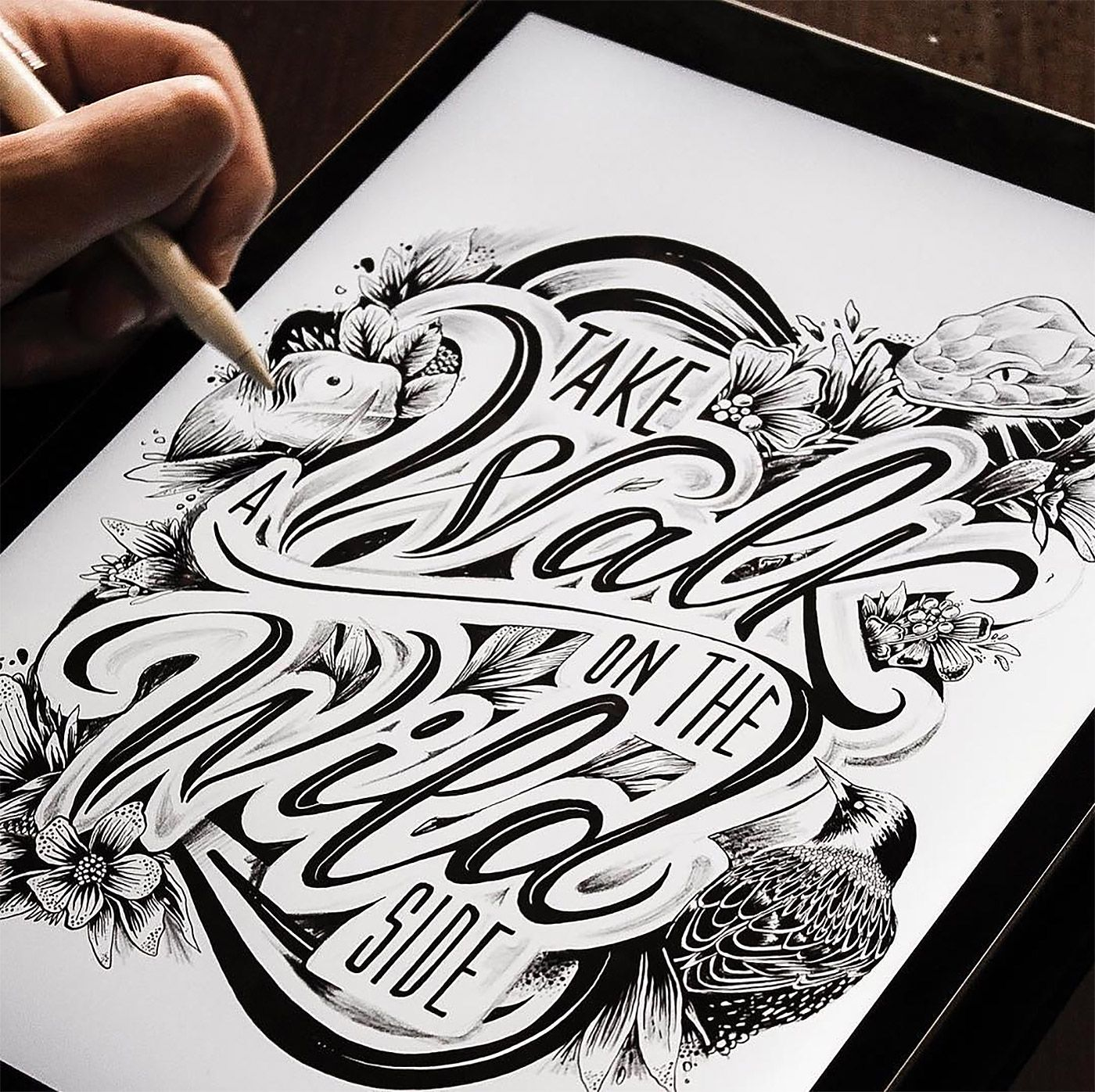 Hand-Lettering By Emanuele Ricci