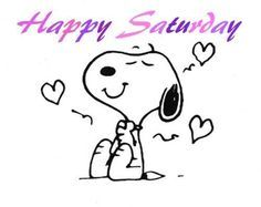 Image result for snoopy saturday images