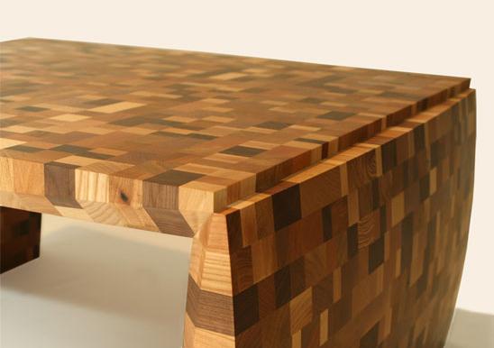 Bon If Itu0027s Hip, Itu0027s Here: Putting A Fingerprint On Custom Wood Furniture. A  Sterling Silver One.