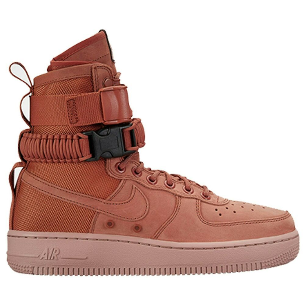 Nike Womens SF AF1 Special Air Force 1 One Dusty Peach