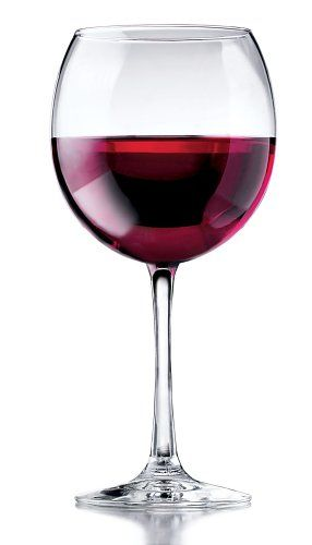 Libbey Vina Round Red Wine Goblets 1814ounce Set Of 6 Read More Reviews The