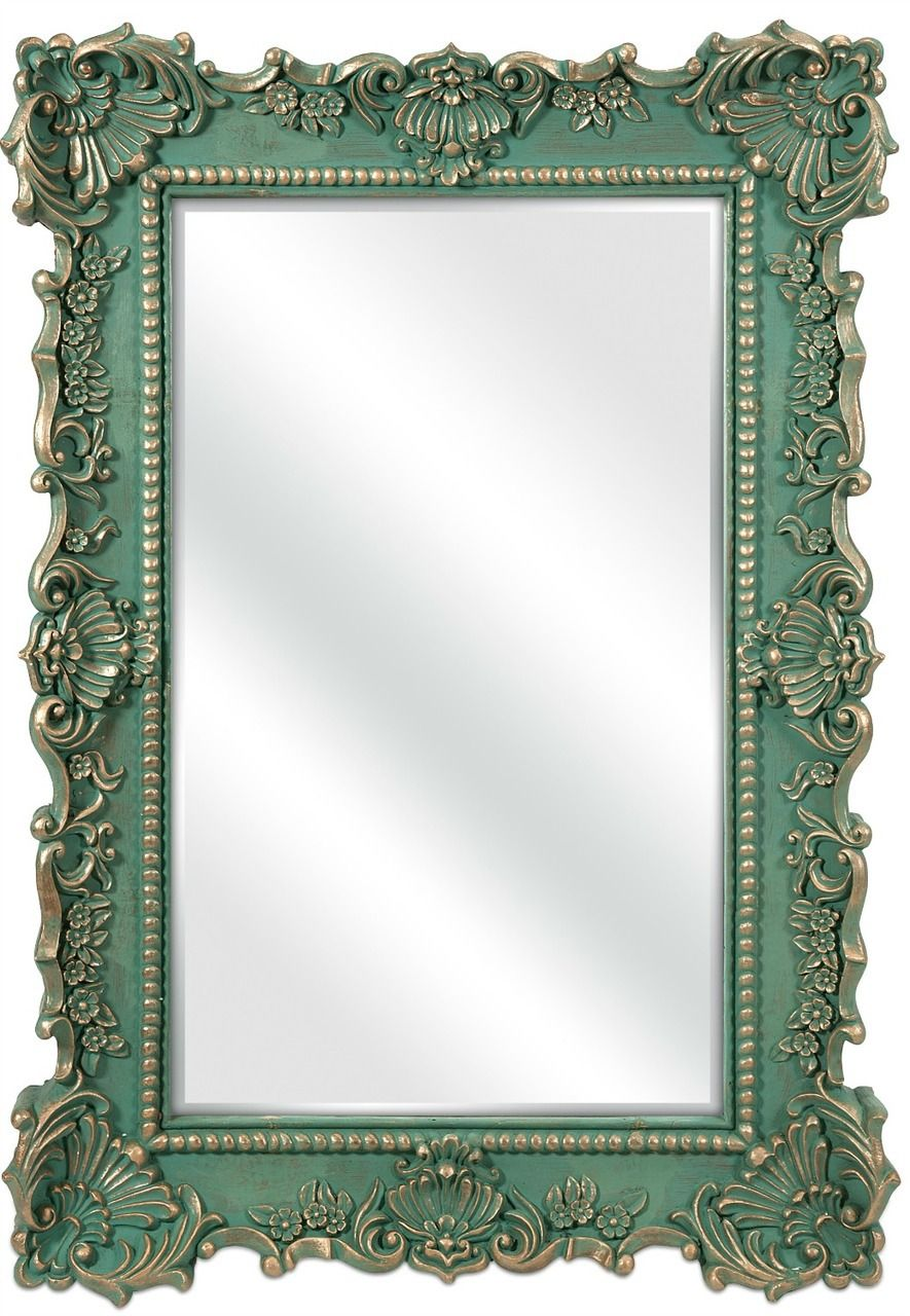 Aqua Sophia Beach Cottage Wall Mirror Get The Look French  # Muebles Federici