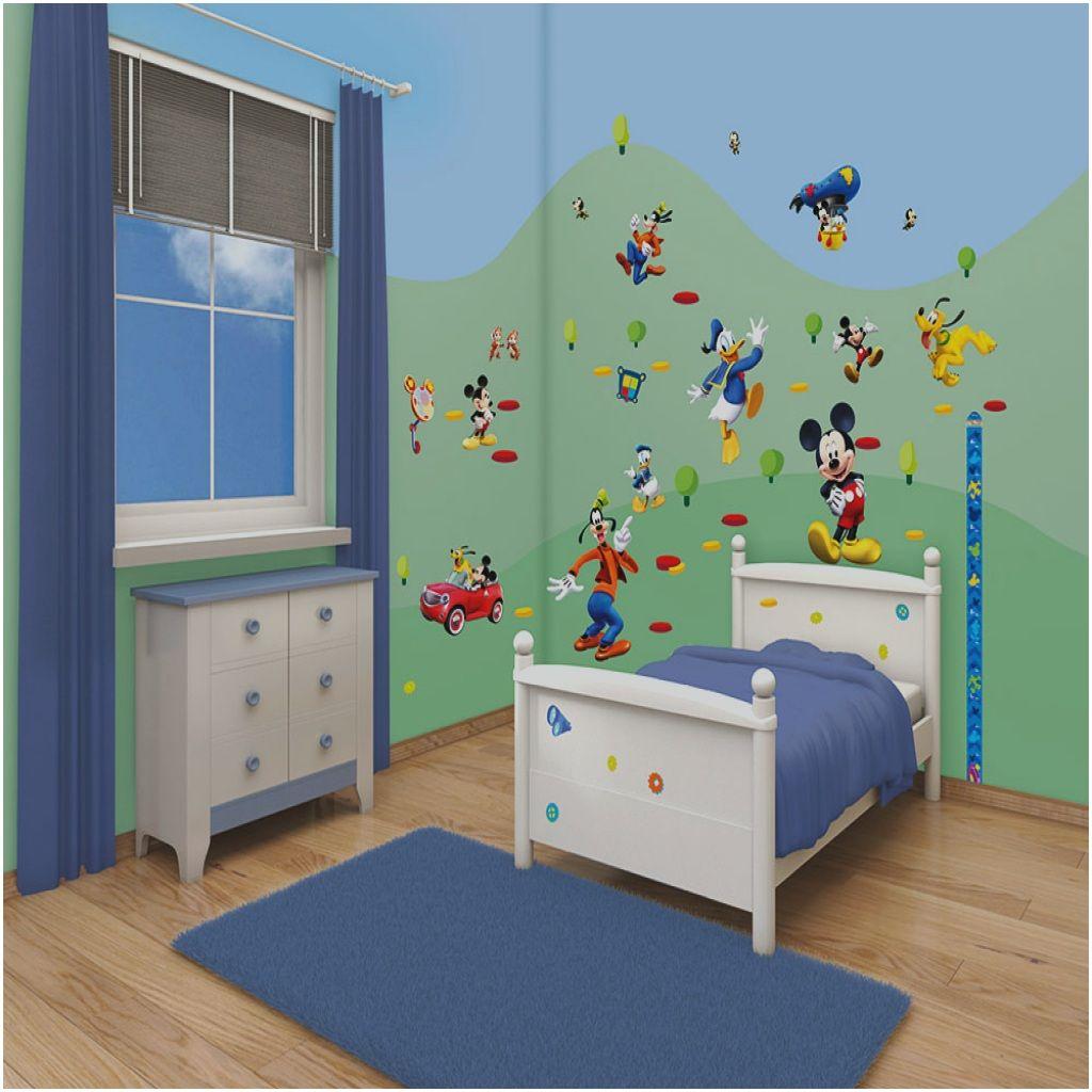 Fine Mickey Mouse Kinderzimmer - Prima Walltastic Wandsticker ...