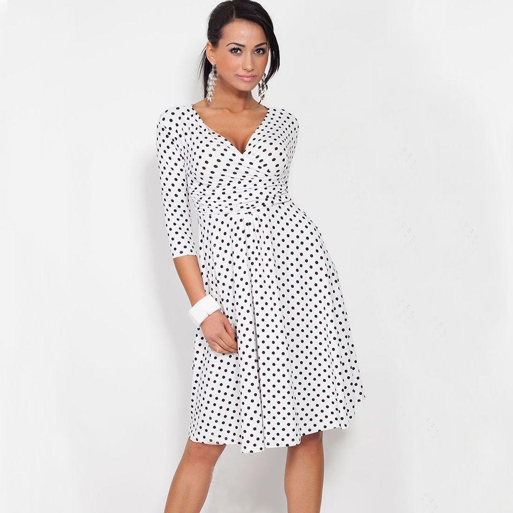 Click to buy fashion plus size women 2017 spring summer polka click to buy fashion plus size women 2017 spring summer polka dot ombrellifo Image collections