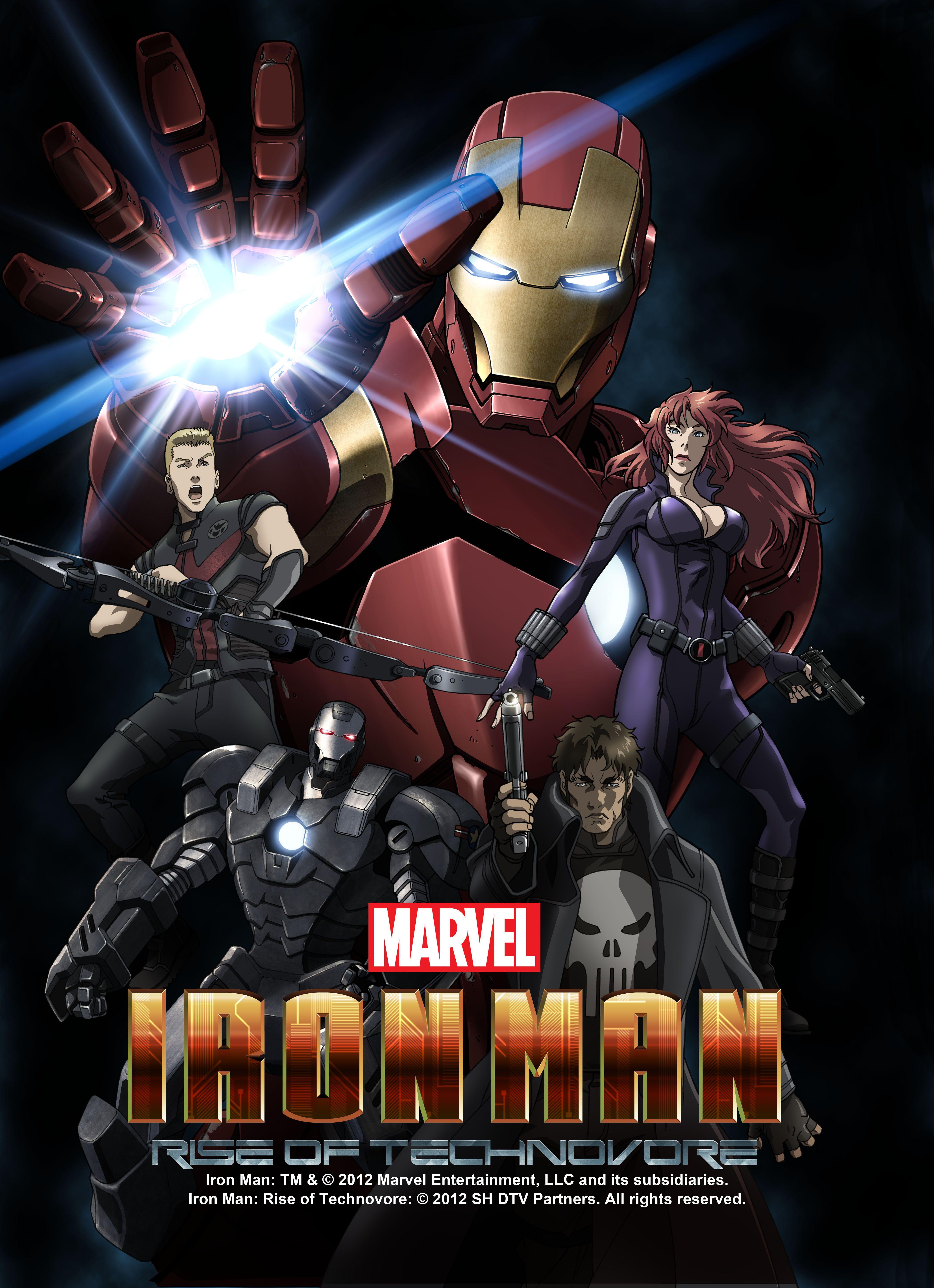 Iron Man Rise of the Technovore Poster Iron man, Iron