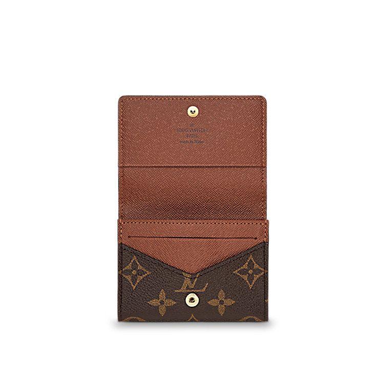 0424b557fb88 Enveloppe carte de visite Toile Monogram Homme Petite Maroquinerie  Porte-clés et porte-cartes   LOUIS VUITTON