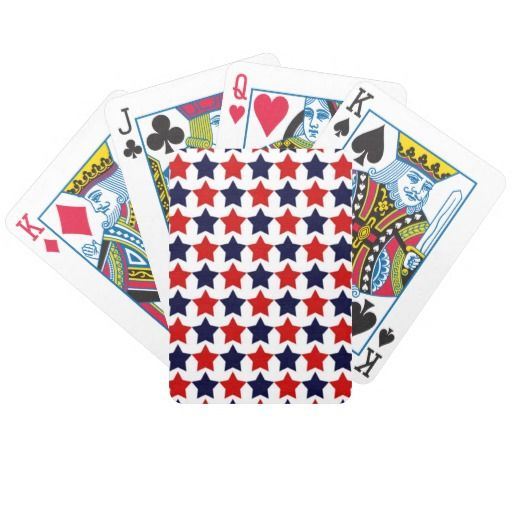 Patriot Stars Bicycle Playing Cards