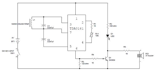 Metal Detector Circuit Diagram Pdf | Gold Detector Circuit Diagram Manual Guide Wiring Diagram