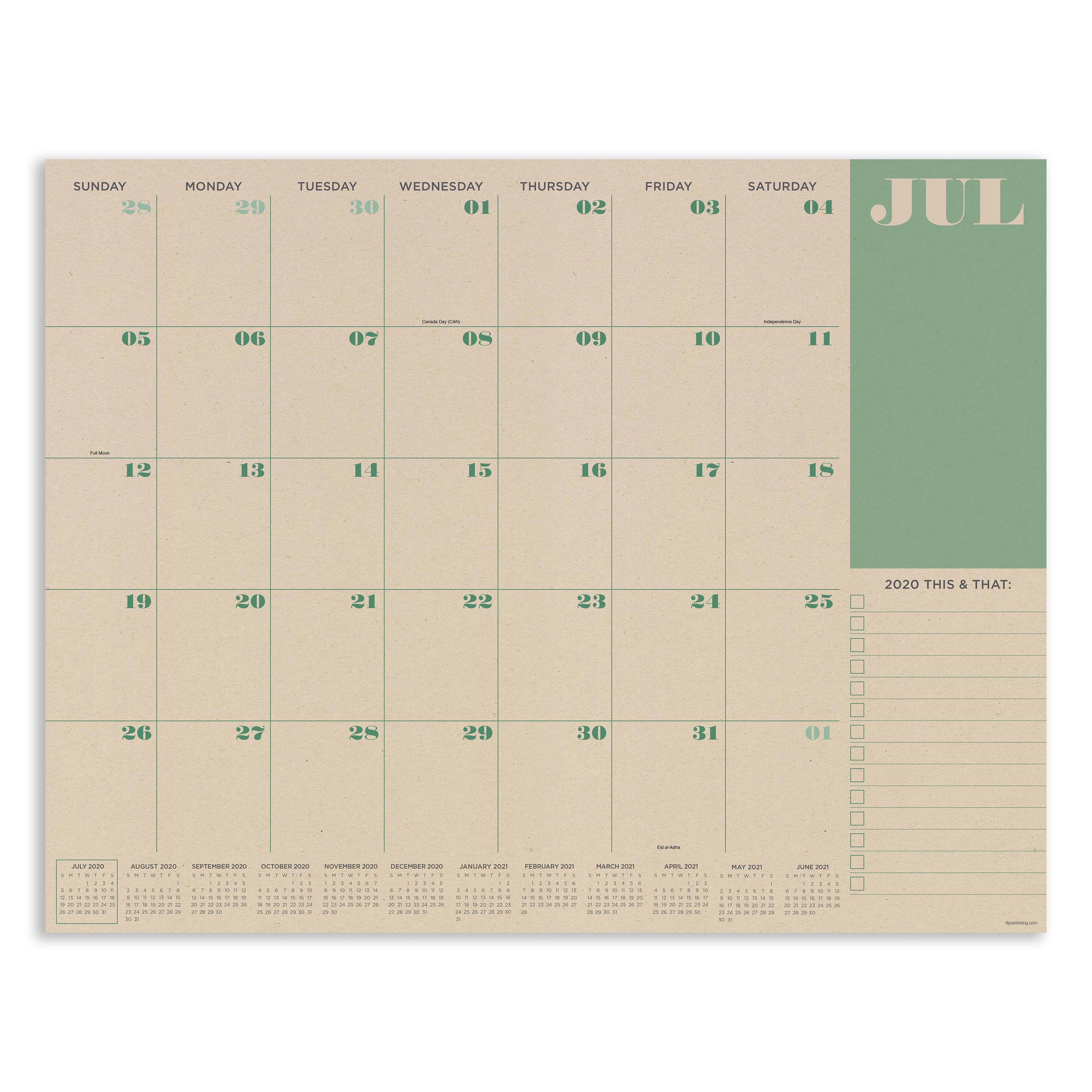 Pin On 2020 2021 Academic Planners Desk Pads