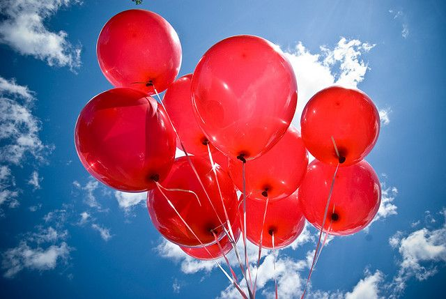 99 Red Balloons In 2020 Red Balloon Balloons Red And Blue