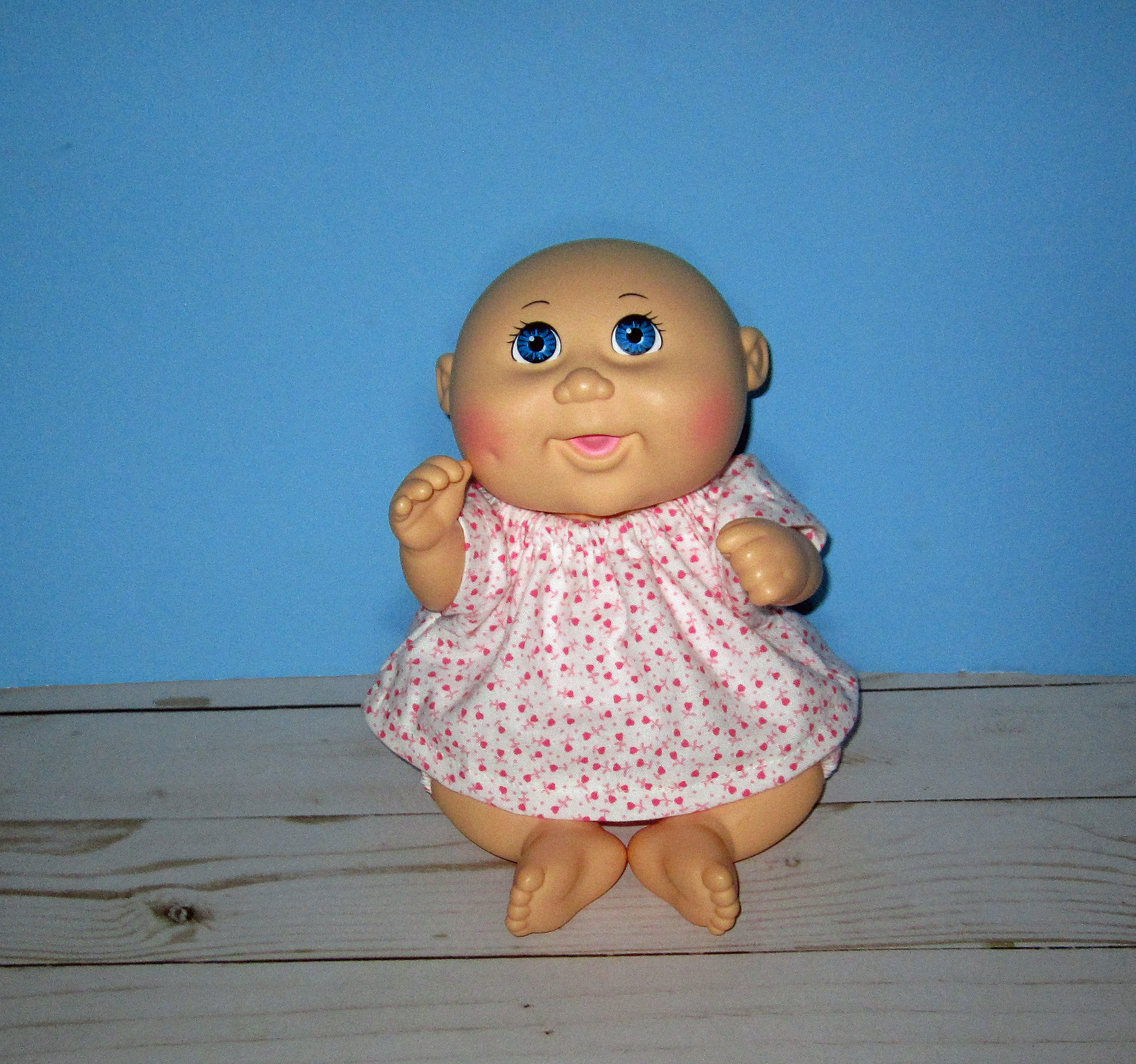 Cabbage Patch Tiny Newborn 9 Dolls Top And Short Set Etsy Cabbage Patch Baby Doll Clothes Newborn Baby Dolls