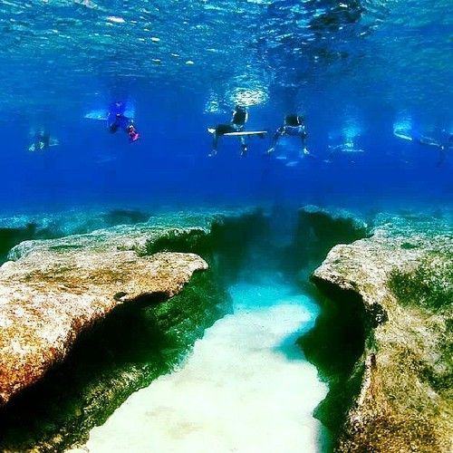 North Shore, Surfers, Coral Reef