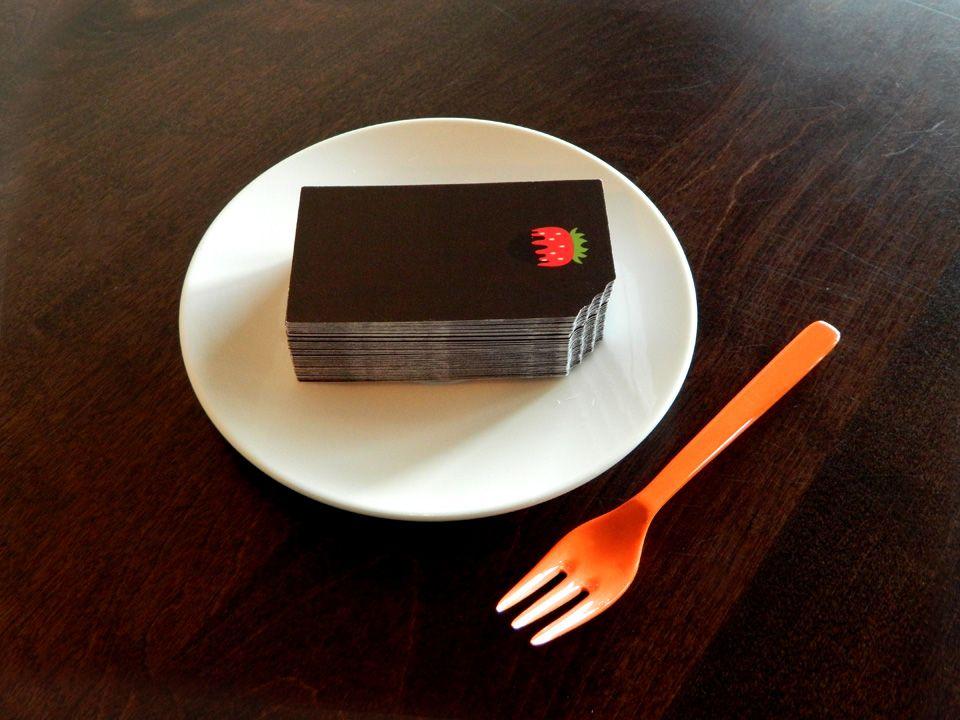 cake slice cake business card - Google\'da Ara | Bir gün işime ...