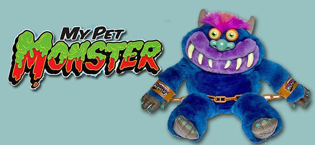 My Pet Monster Pet Monsters Pets Retro Toys