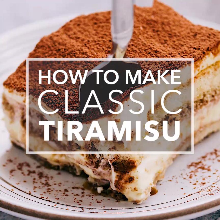 Tiramisu Recipe, How to Make Classic Tiramisu