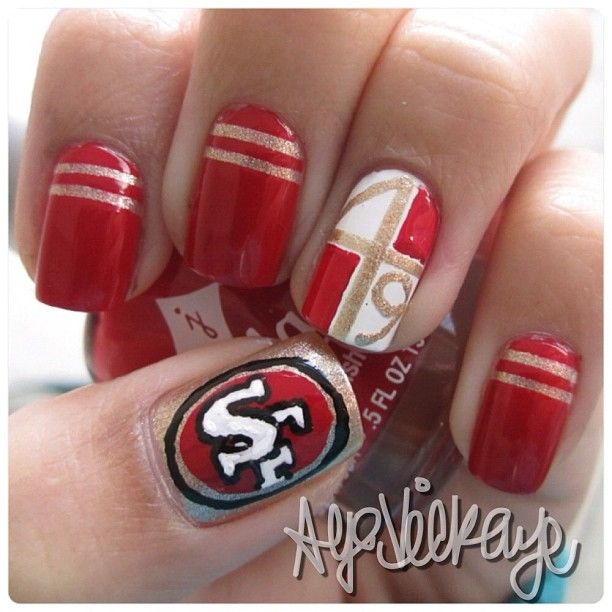 36 Sports Nail Art Ideas That Will Make You Ready For Time