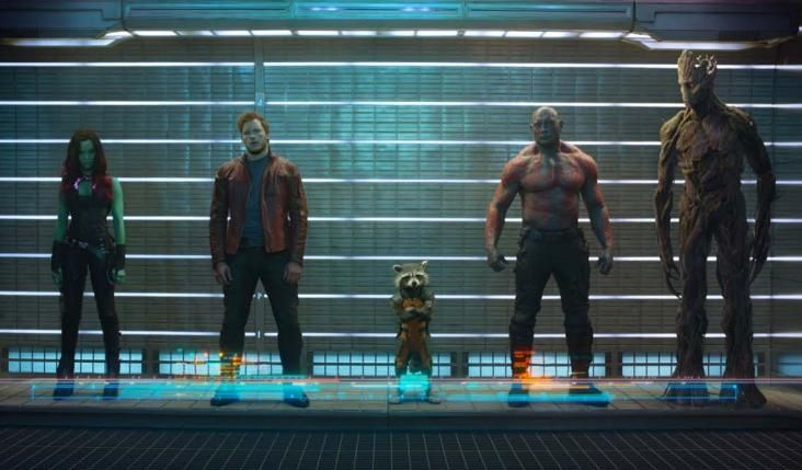 Guardians of the Galaxy. Yes. Love love love!! Nerd heart is super happy!