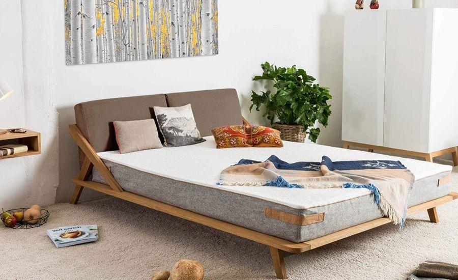 Design Bett NORDIC SPACE in 2020 Bett, Bett holz und