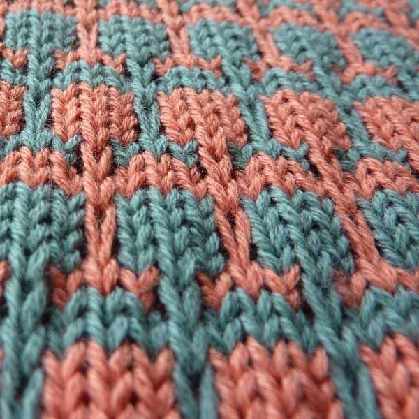 Multi Color Slip | Knitting Stich | Pinterest | Dos agujas, Puntadas ...