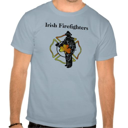Irish Firefighter Theme Apparel Tee T Shirt, Hoodie Sweatshirt