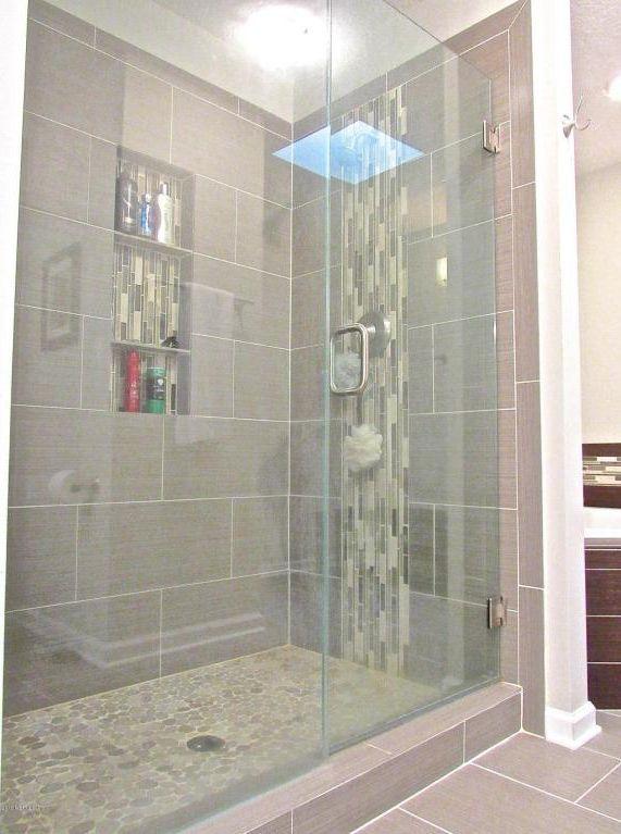Transitional Bathroom Master Bath Pinterest Skylight - Bathroom remodel orange park fl