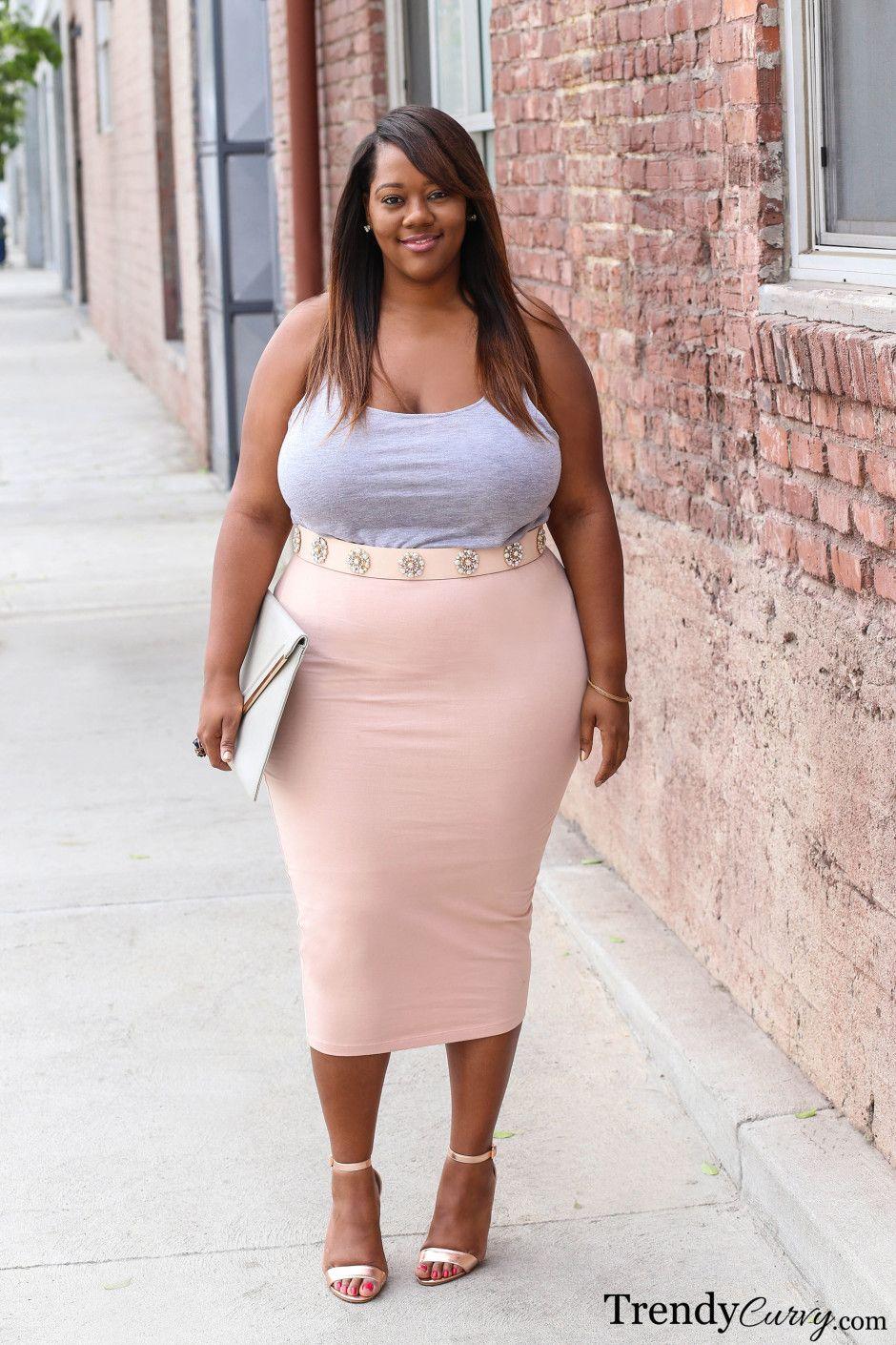 Plus Size Fashion   Hot   Pinterest   Moda tallas grandes y Tamaño extra
