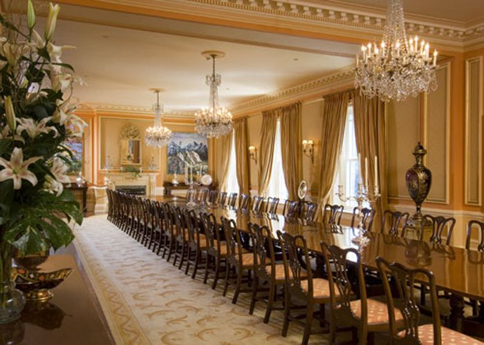 Very Long Dining Room Tables  Decor Details & Furniture Endearing Large Dining Room Sets Inspiration Design