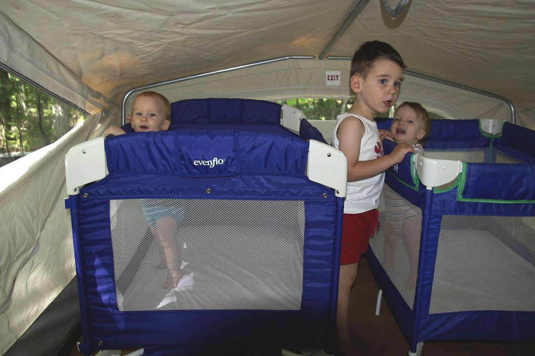 How To Deal With Baby Sleeping Arrangements In A Pop Up