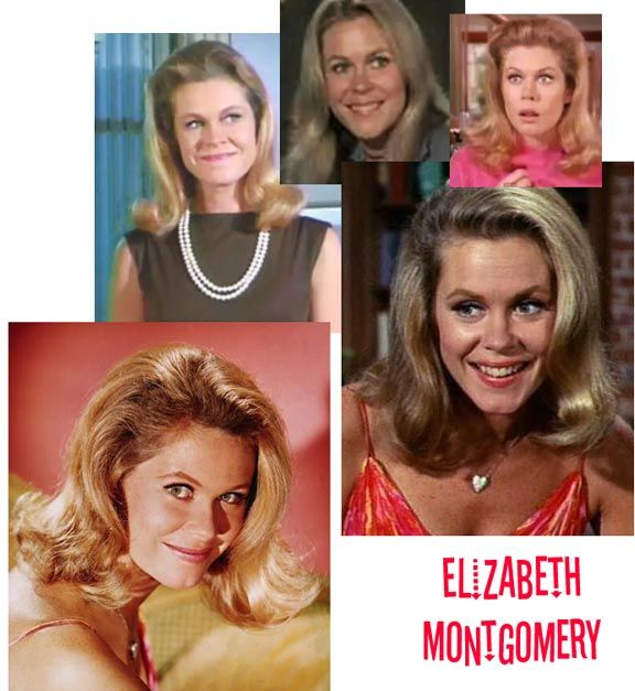 "Bewitched! Elizabeth Montgomery as Samantha Stevens. ""Oh My Stars!""  LOVED this show. She is my Heroine!"