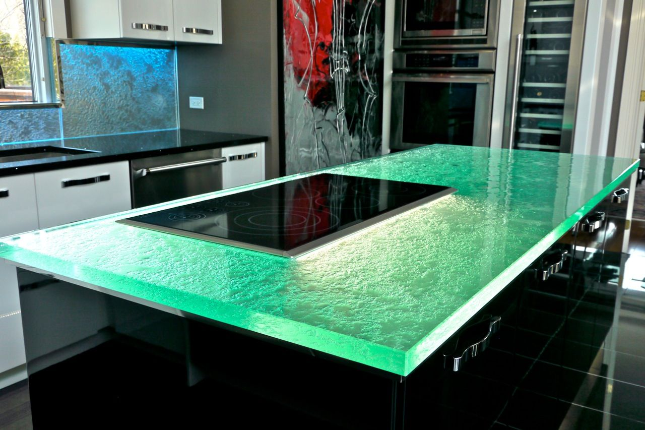 Glass Is Perfect For Any Style Of Kitchens. ThinkGlass Glass Countertops  Can Also Be Only