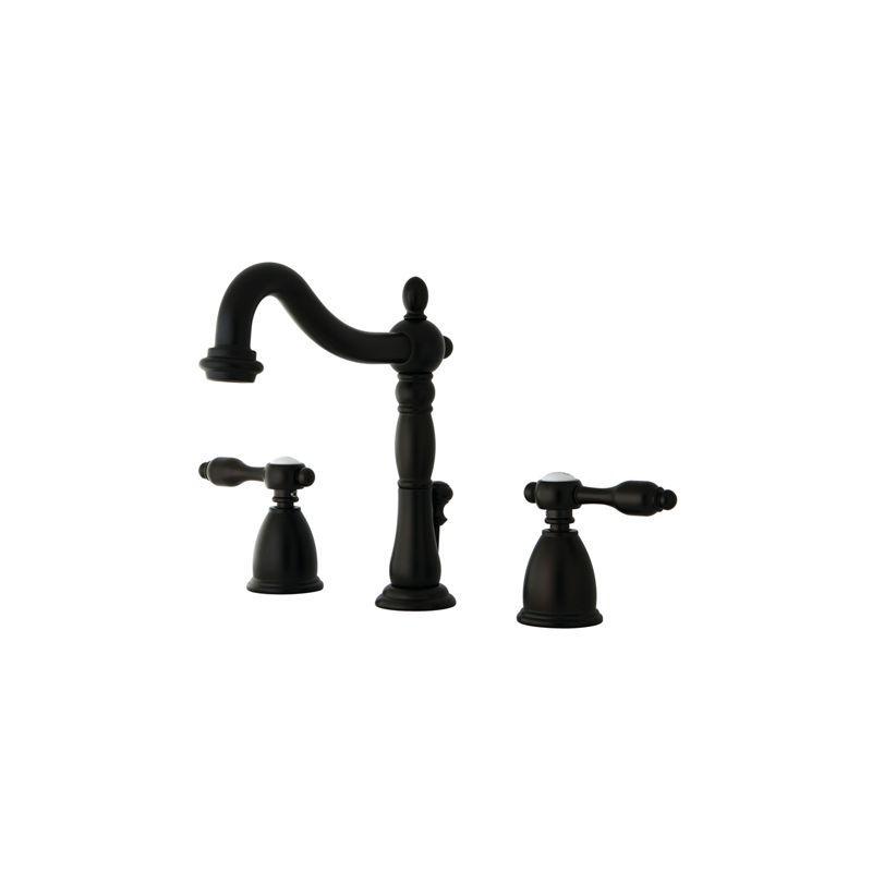Kingston Brass KB197.TAL Tudor Centerset Bathroom Faucet - Free Pop ...