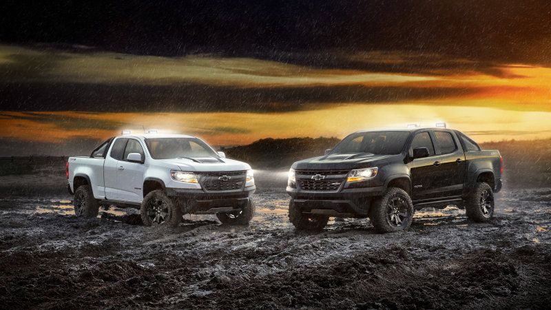 2018 Chevy Colorado Zr2 Midnight And Dusk Editions To Debut At