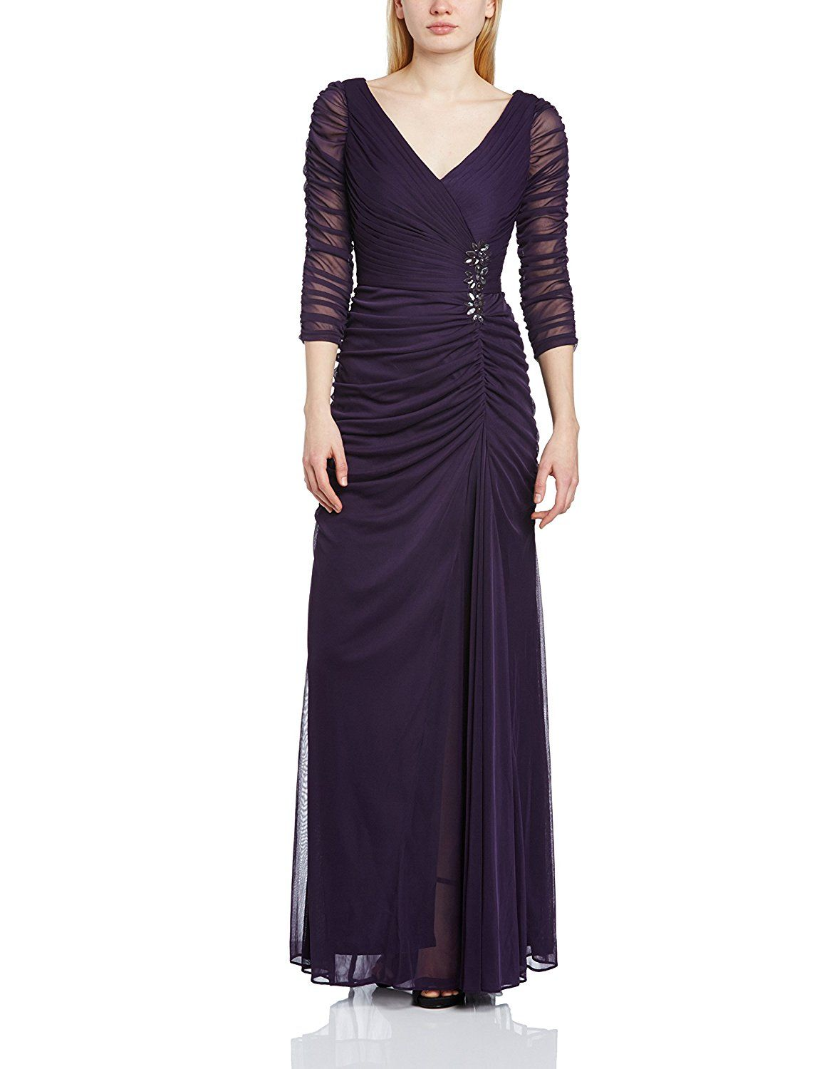 Adrianna Papell Women\'s Draped Covered Gown | Women\'s Fashion ...